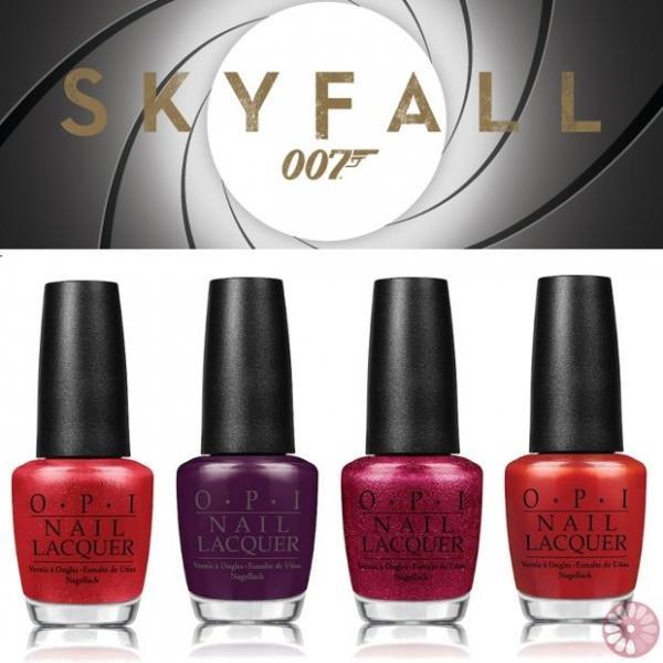 OPI Skyfall Holiday 2020 Nail Polish Collection