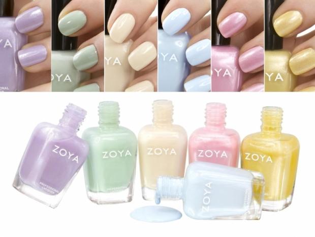 Zoya Lovely Spring 2020 Nail Polish Collection