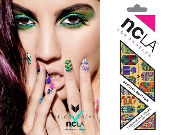 Melody Ehsani x NCLA Nail Wraps 2020