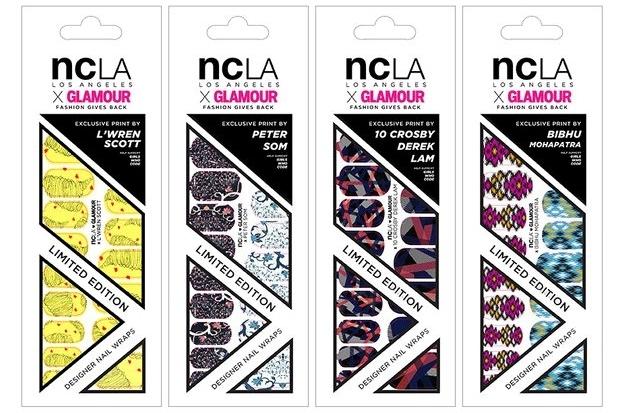 Glamour x NCLA Nail Wraps 2020