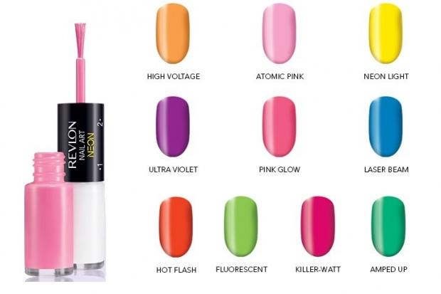 Revlon Nail Art Neon Spring 2020 Collection