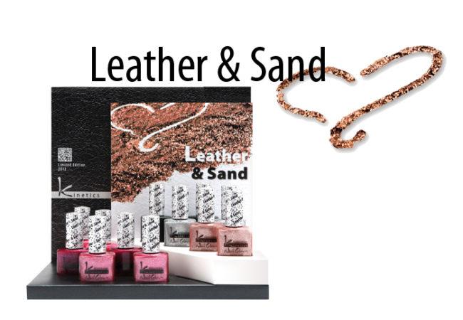 Kinetics Leather & Sand Nail Polish Collection