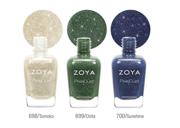 Zoya PixieDust Fall 2020 Nail Polishes