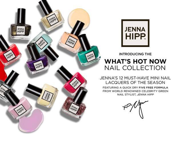 Jenna Hipp Launches Nail Polish Line