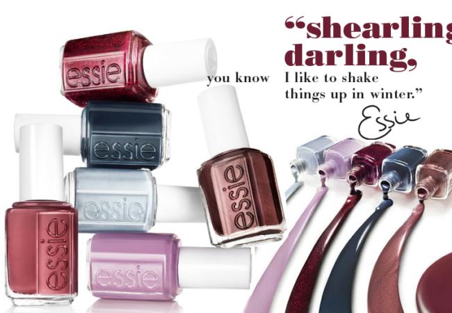 Essie Winter 2020 Shearling Darling Nail Polish Collection