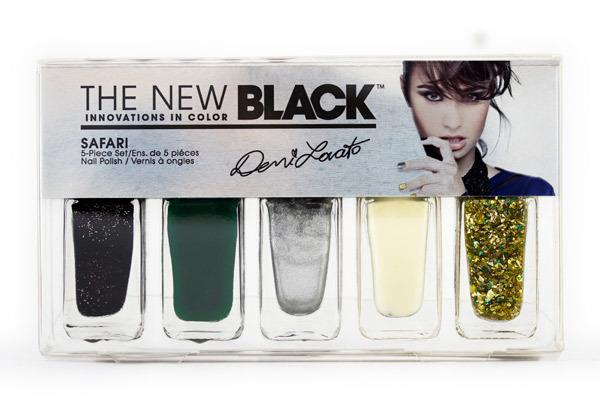 The New Black Demi Lovato Nail Polish Line