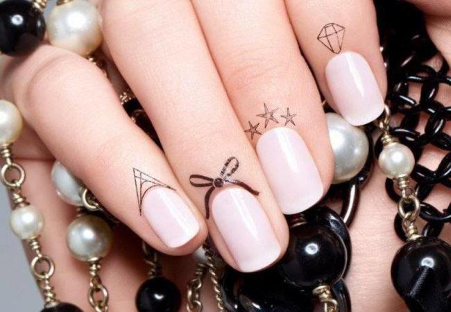 Faux Cuticle Tattoos Trend
