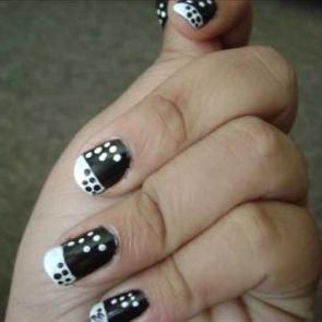 Polka Dot Nail Designs