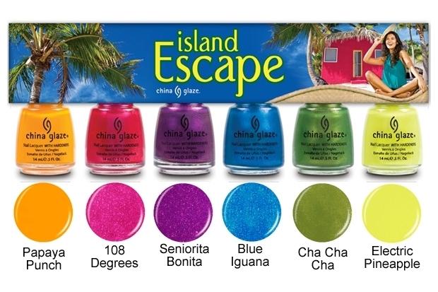 China Glaze Island Escape Summer 2020 Nail Polishes