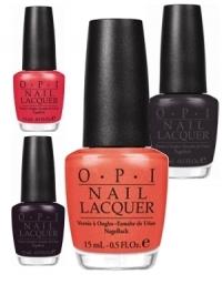 OPI Touring America Nail Polish Collection