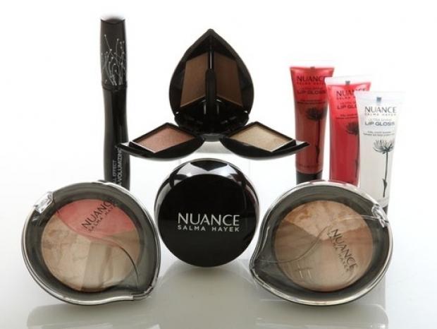 Salma Hayek Nuance Beauty Line