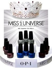 OPI Miss Universe Nail Polish Collection