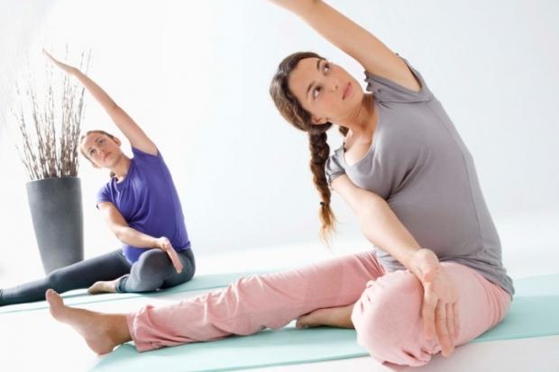 Pregnancy Workout – Prenatal Yoga