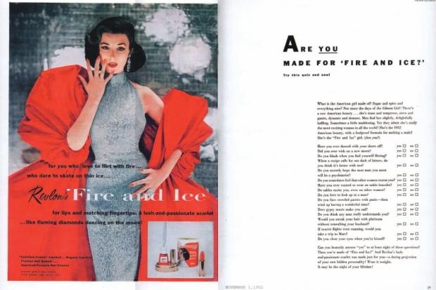 Jessica Biel for Revlon Fire & Ice Color Collection