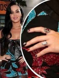 Glam Celebrity Nail Art