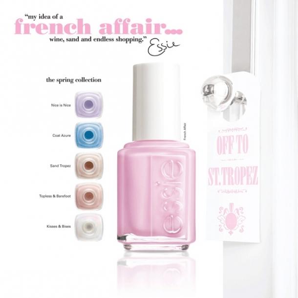 Essie French Affair Spring 2020 Nail Polish Collection