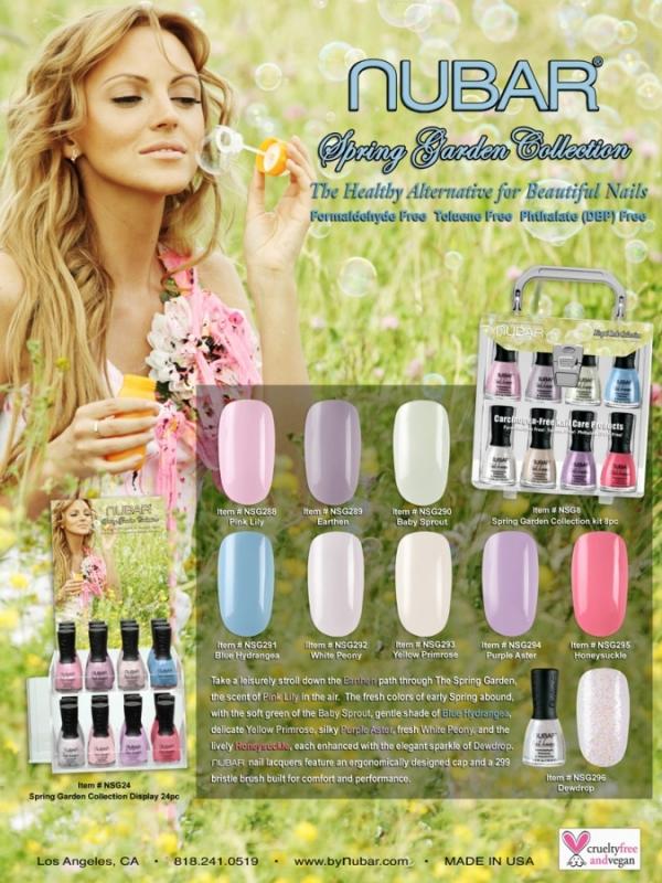 Nubar Spring Garden Nail Polish Collection 2020