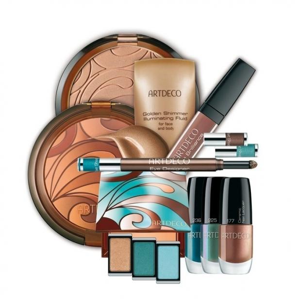 ArtDeco Aqua Glow Bronzing Makeup for Summer 2020