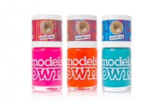 Models Own Smash-Up Crackle Nail Polishes