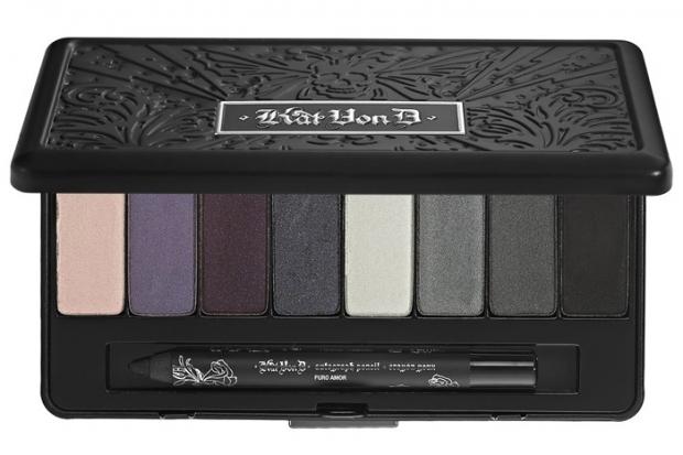 Kat Von D True Romance Eye Shadow Palette in Saint and Sinner