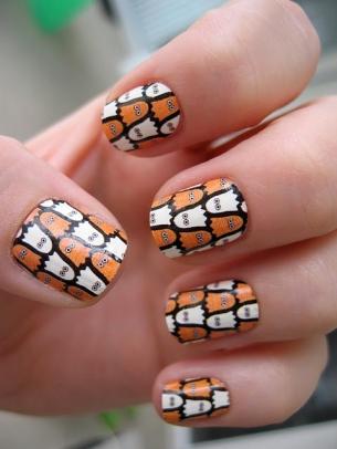 Easy Halloween Nail Art Designs