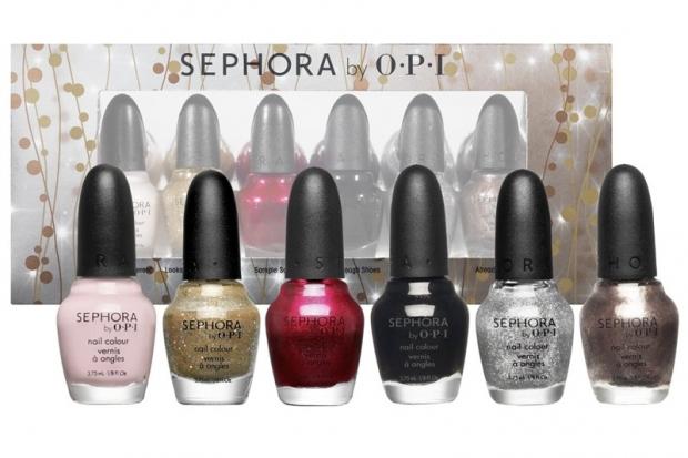 Sephora by OPI Glimmer Wonderland Mini Nail Color Set