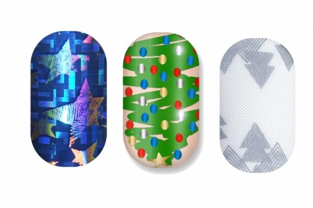 Minx Christmas Theme Nails