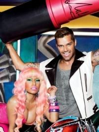 Nicki Minaj and Ricky Martin for MAC Viva Glam Collection