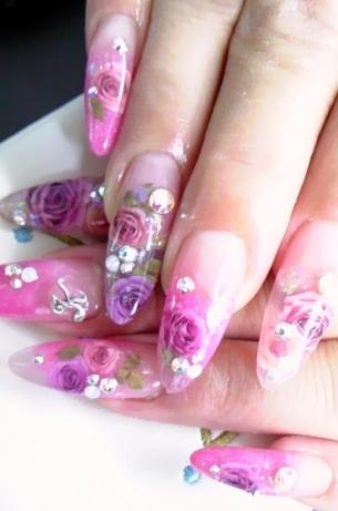 Glamorous Nail Art Designs