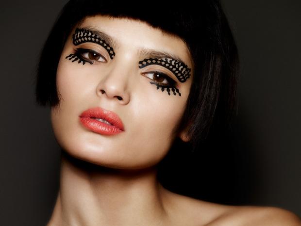 Beauty Trend Alert! Face Lace by Phyllis Cohen