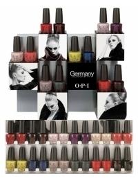 OPI Germany Fall 2020 Nail Polish Collection