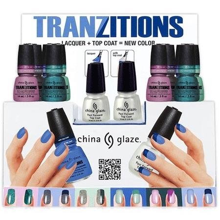 China Glaze Tranzitions Winter 2020 Nail Polish Collection