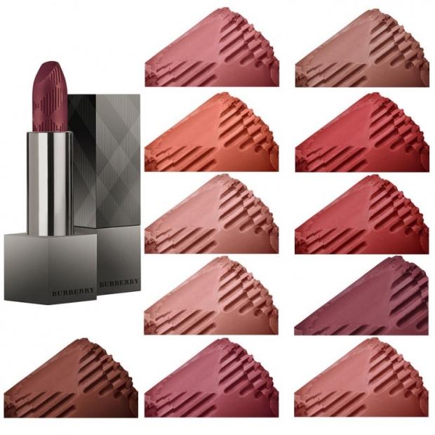 Burberry Lip Velvet Long Wear Lipsticks