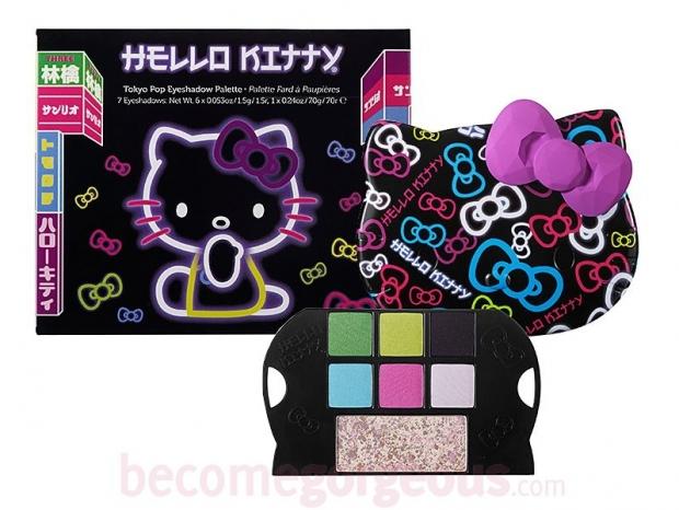 Hello Kitty Tokyo Pop 2020 Makeup Collection