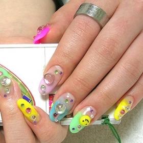 Multi-Colored Nail Designs