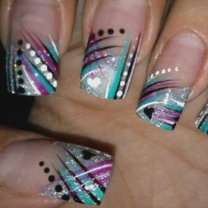 Easy Colorful Nail Art Ideas