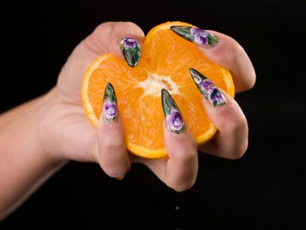 Glamorous Summer Nail Art Ideas