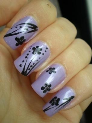 Super-Simple Fall Nail Art Ideas