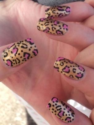 Easy Animal Print Nail Art