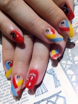 Colorful Summer Nail Art Ideas