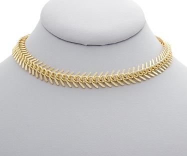 fish-bone-gold-choker-necklace-12