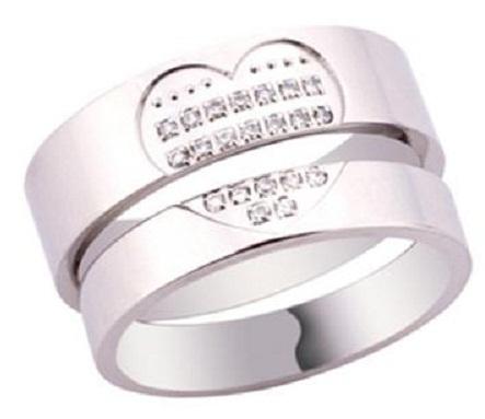 Couples rings tumbler