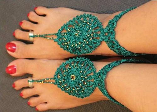 anklet-designs-knitted-toe-ring-anklet