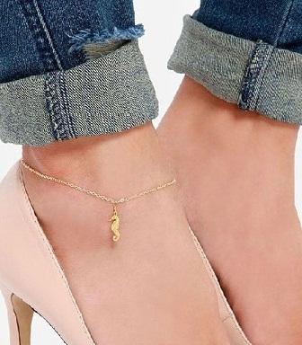 anklet-designs-gold-anklet-with-sea-horse-design