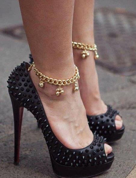 anklet-designs-indo-western-anklet-design