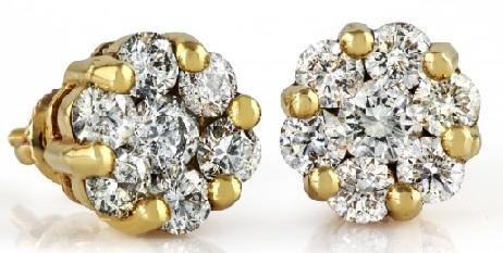 floral-diamond-earrings-for-men
