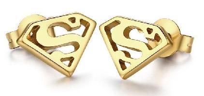 super-hero-gold-earrings-for-men