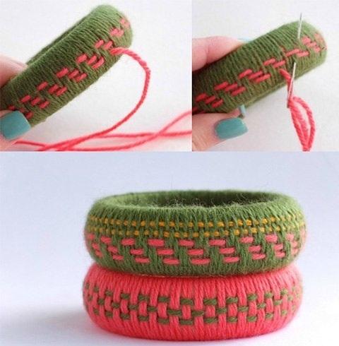 Woven Thread bangles