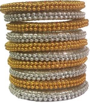 Thread gota wrap bangles