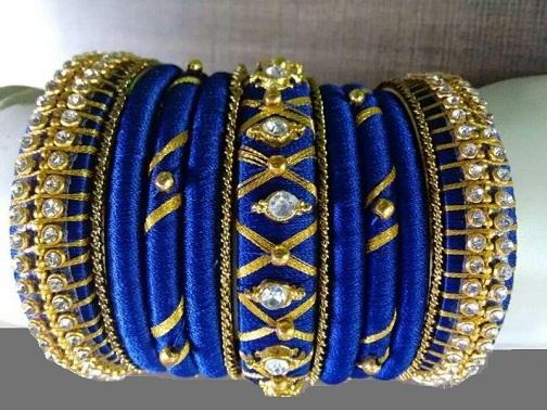 Bead work thread Bangles